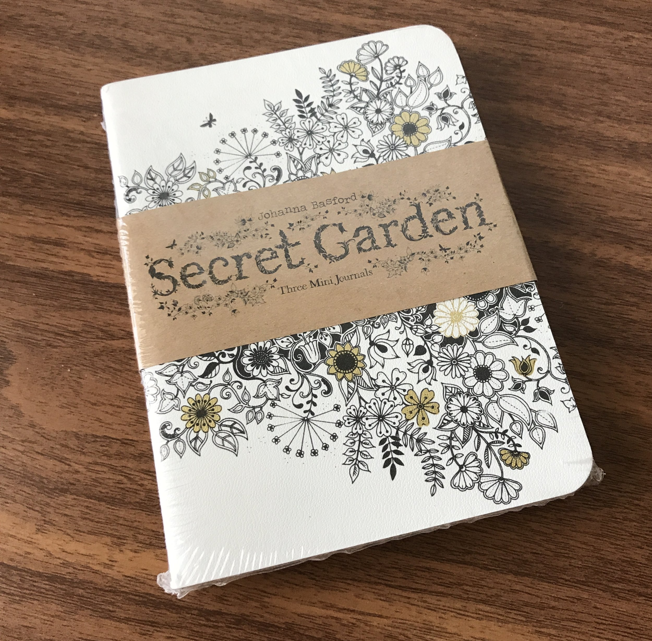 These Johanna Basford journals are among the prizes being given away this week!