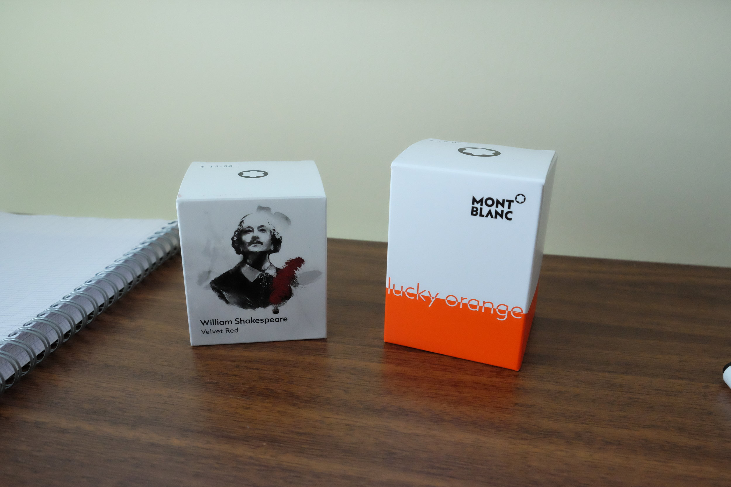 Montblanc's limited edition packaging is always worth checking out, even if you don't keep boxes.