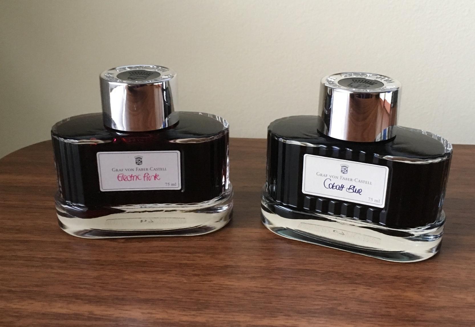 Graf-von-Faber-Castell-Ink-Bottles