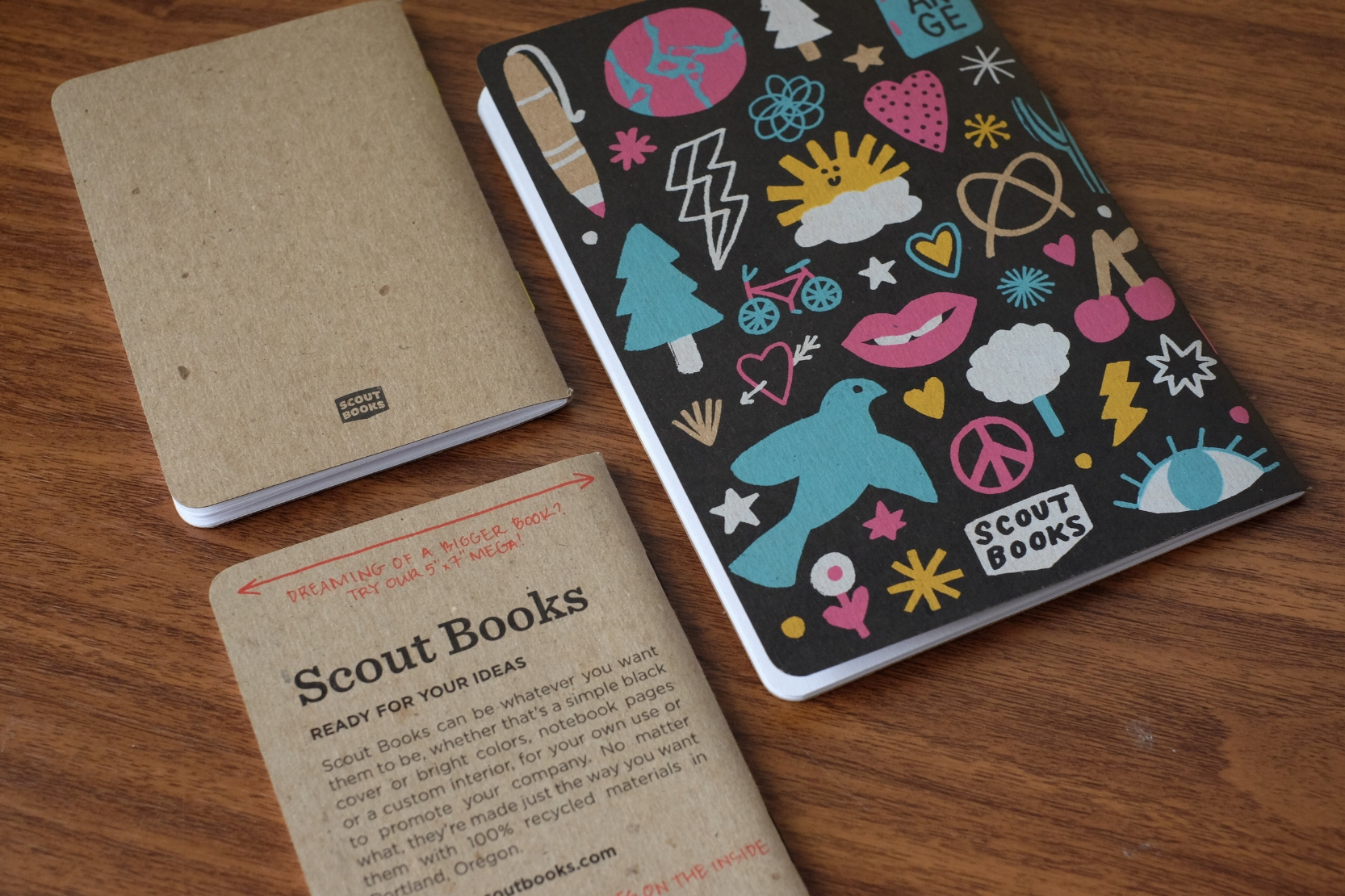 Scout-Books-Design-Options