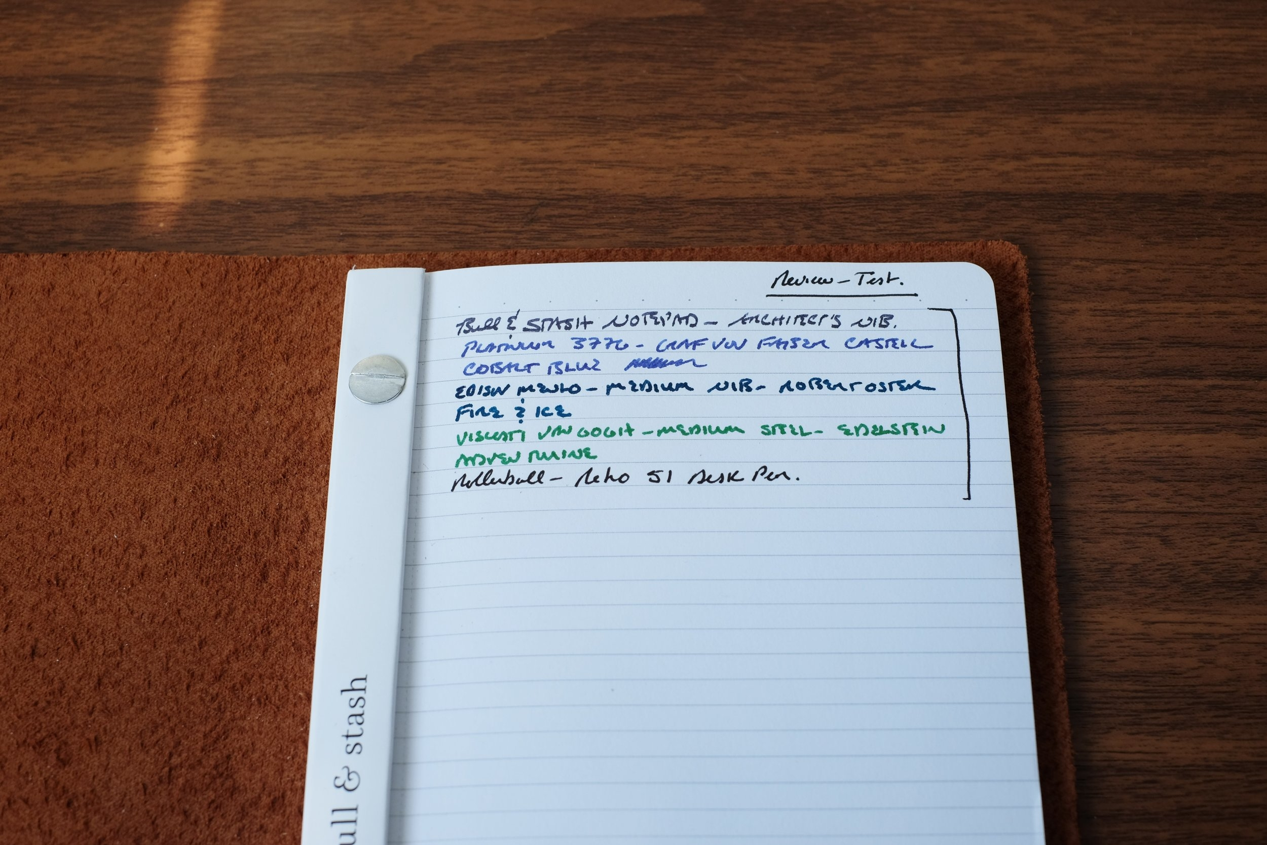 Bull & Stash Writing Sample