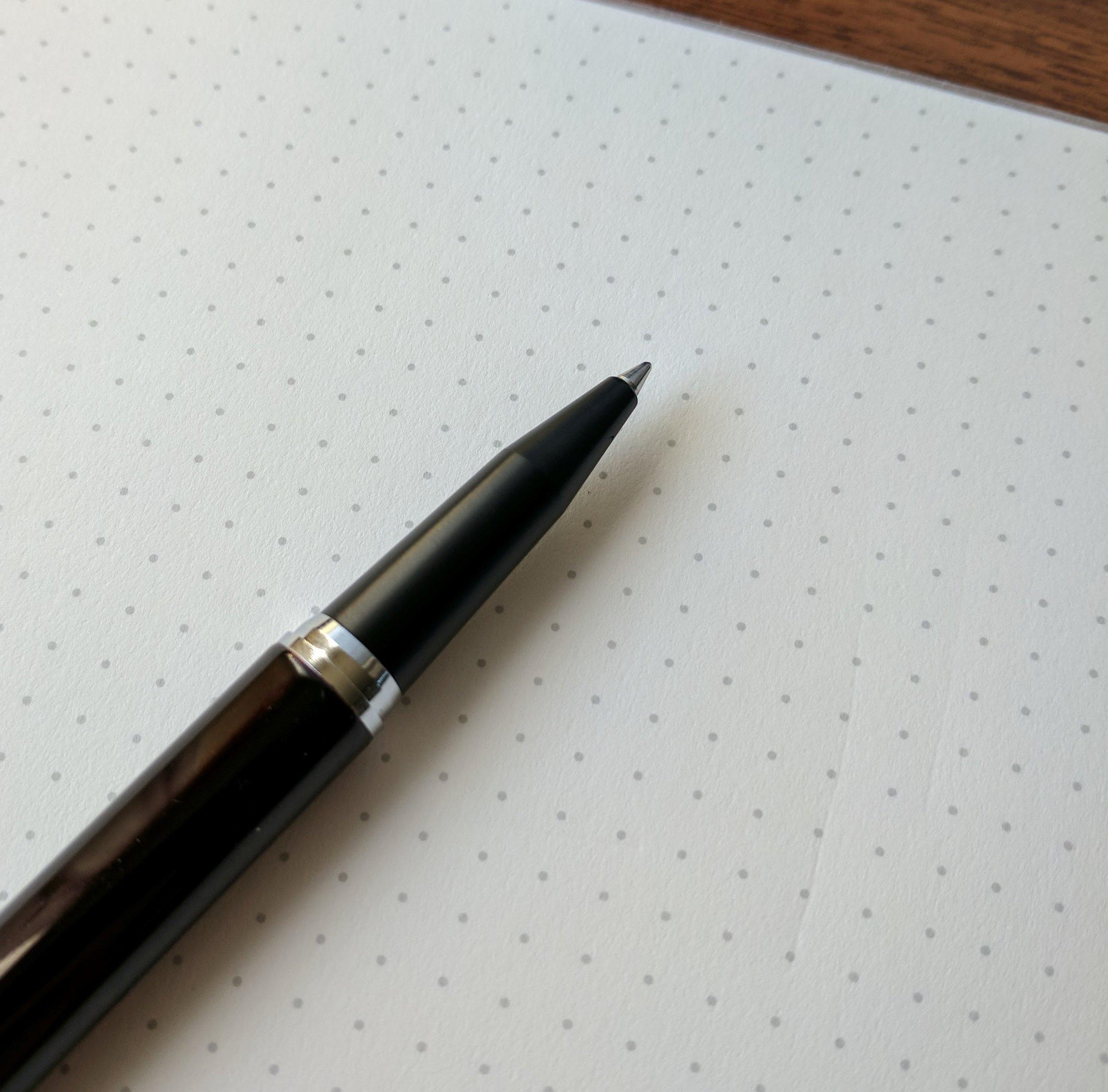 Retro 51 Desk Pen Matte Grip Section