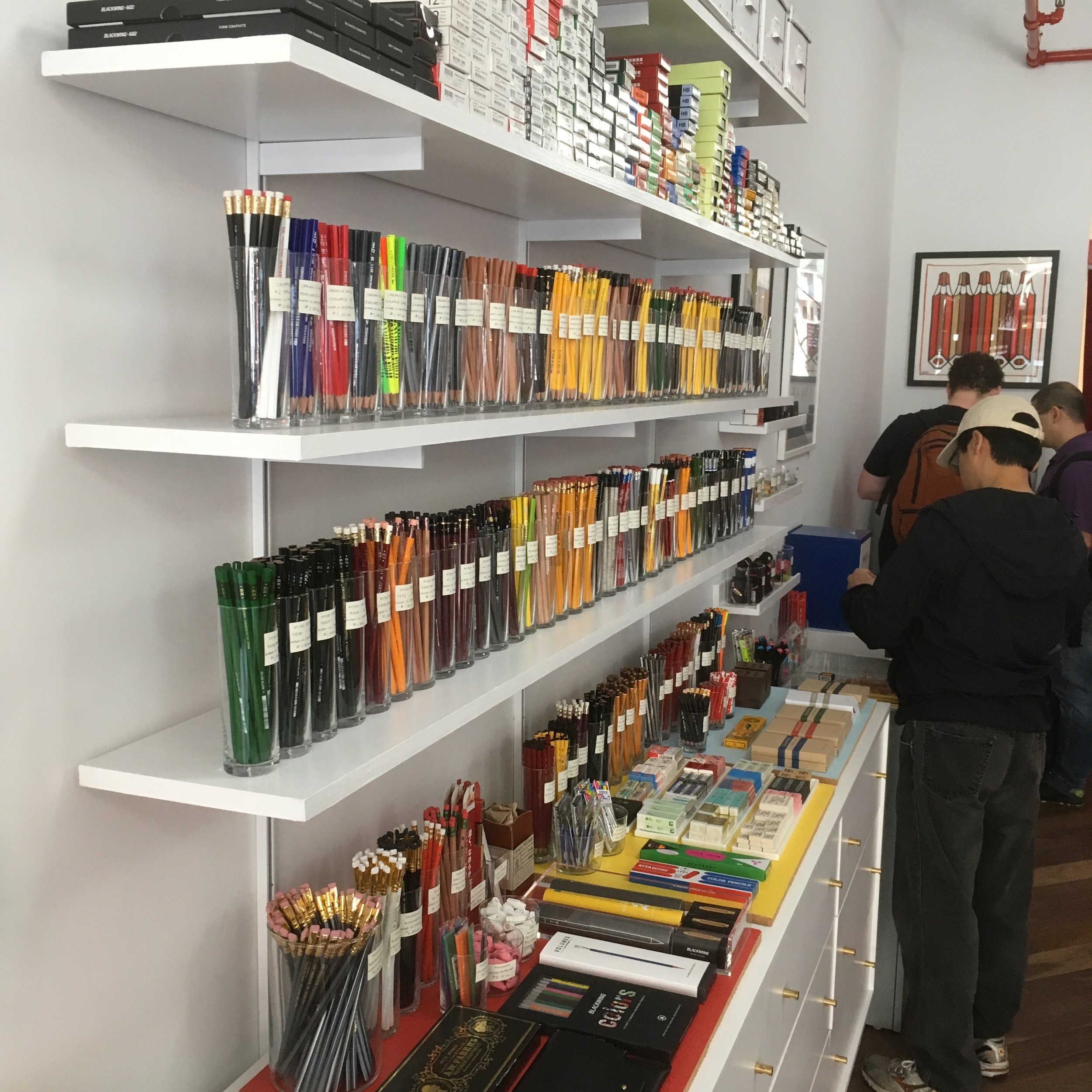 The Wall of Pencils Is Back!