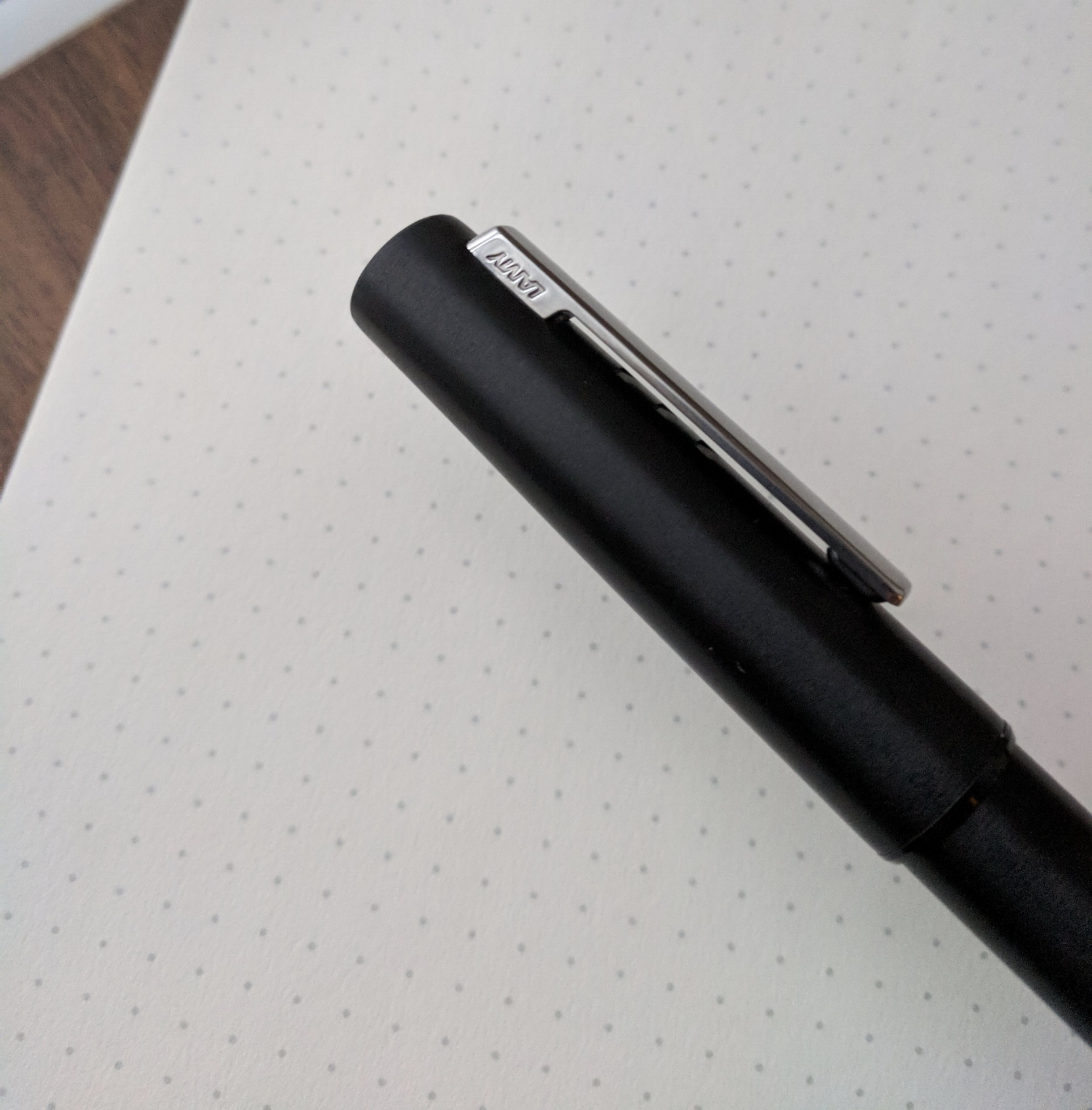 "The fact that ""Lamy"" is upside down on the clip sort of epitomizes the problems / odd design choices with this pen."