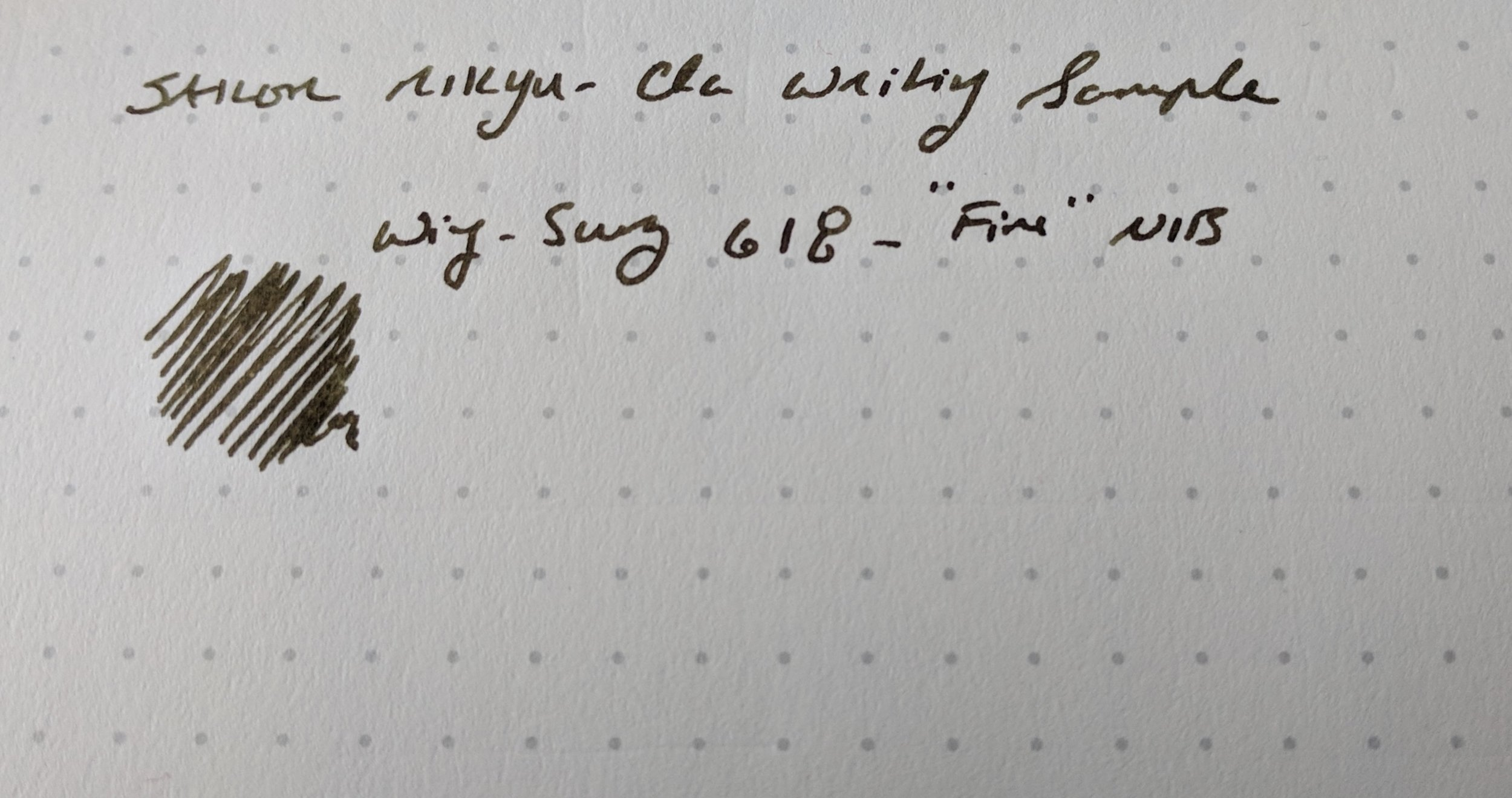 Sailor Rikyu-Cha Writing Sample