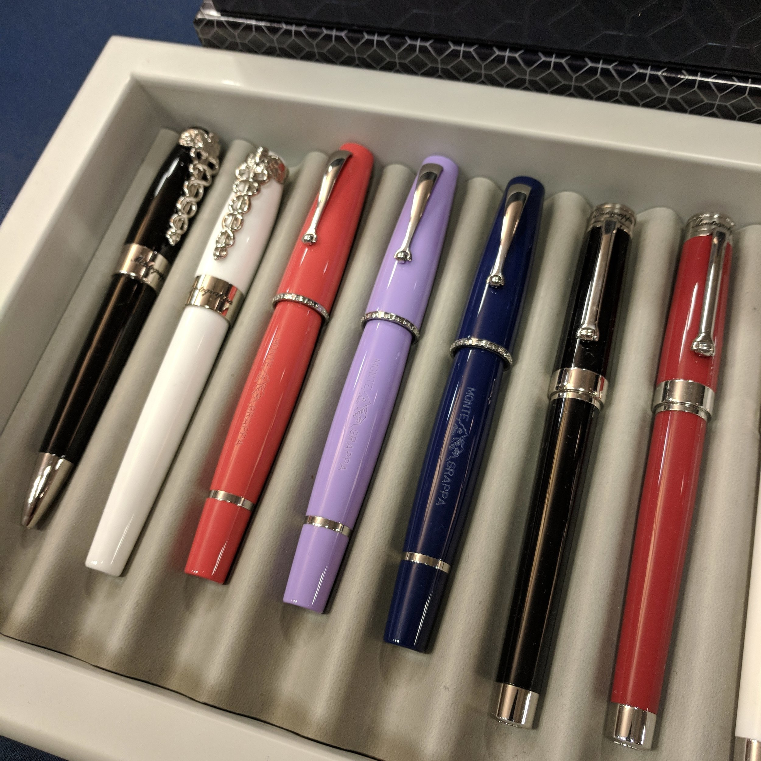 Montegrappa Monte-Grappa (three pens in the center)