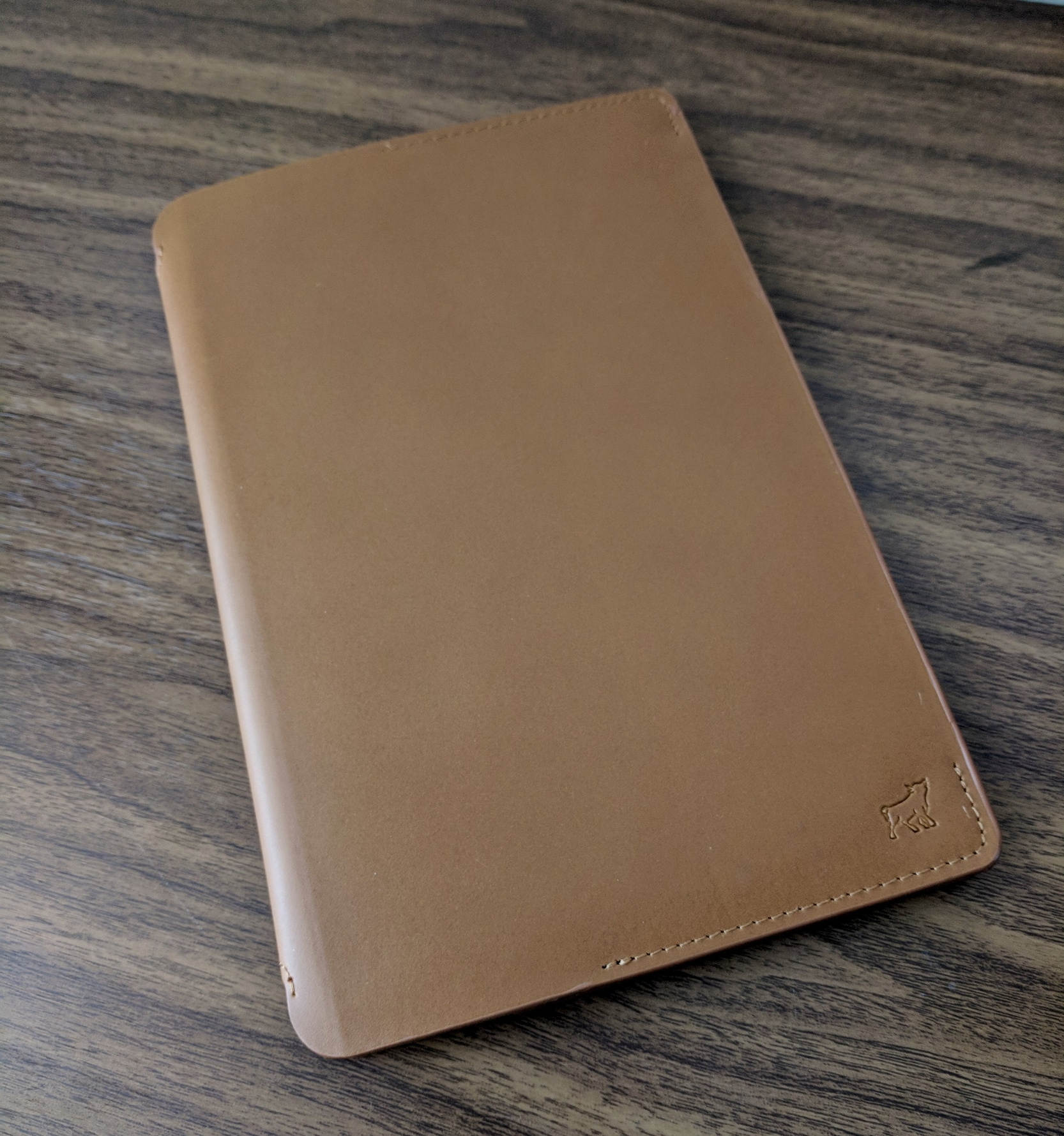 The leather - both outside and in - is a huge upgrade on the new Bull & Stash Notebook.