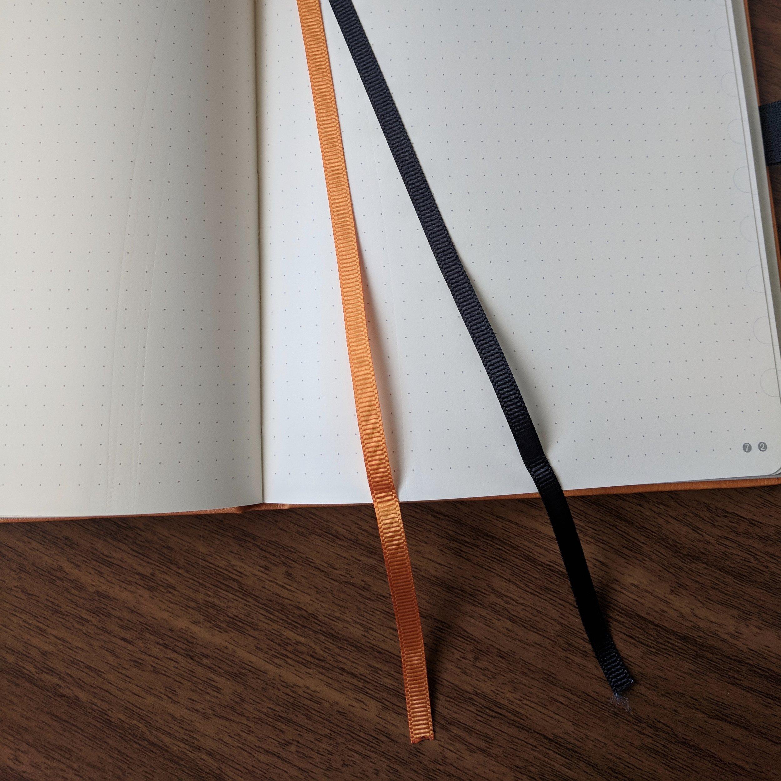 Dingbats* Double Ribbon Bookmarks