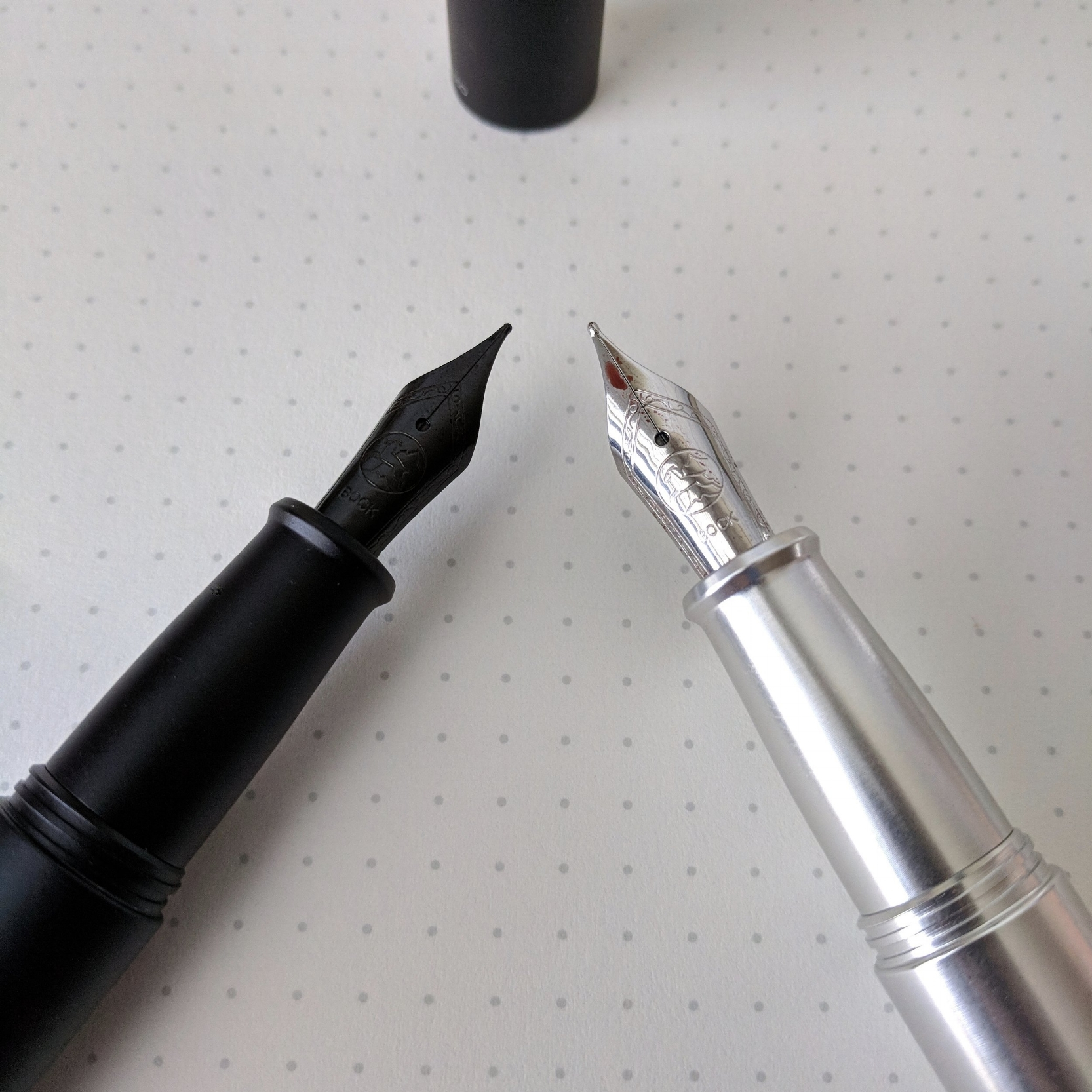 I don't know if Ensso tunes their nibs prior to shipping, but the Bock nibs on my two PIUMA pens are some of the best Bocks that I've used. The ink flow is steady with no starvation issues that you sometimes see with the standard Bock feed.