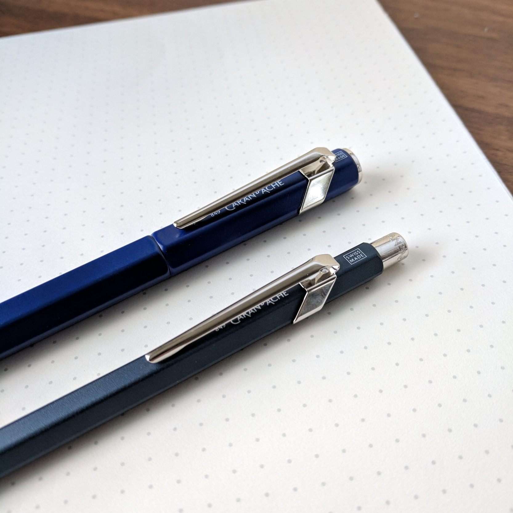 This week I reviewed my first fountain pens from Caran d'Ache. Link below!
