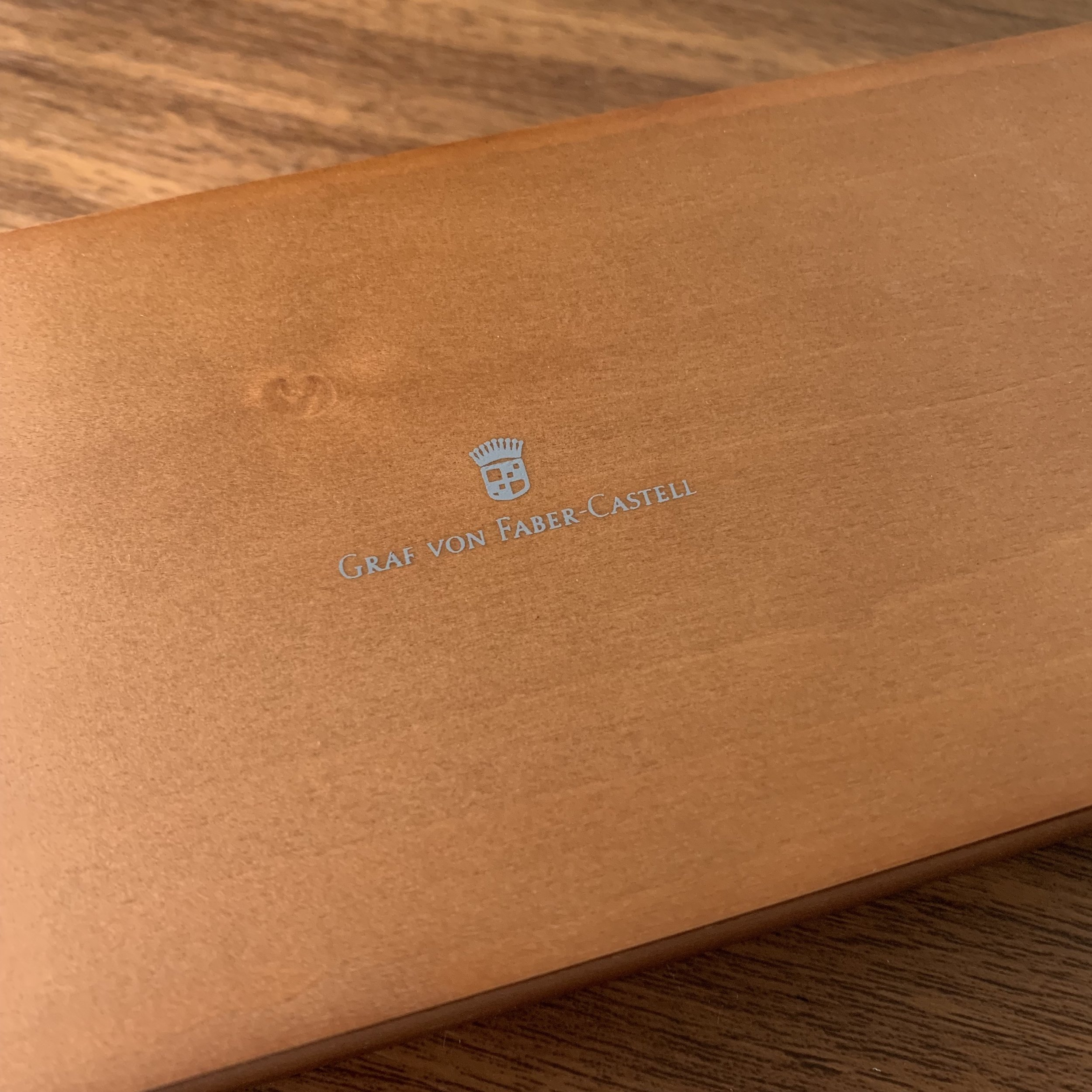Graf von Faber Castell Logo on Presentation Box