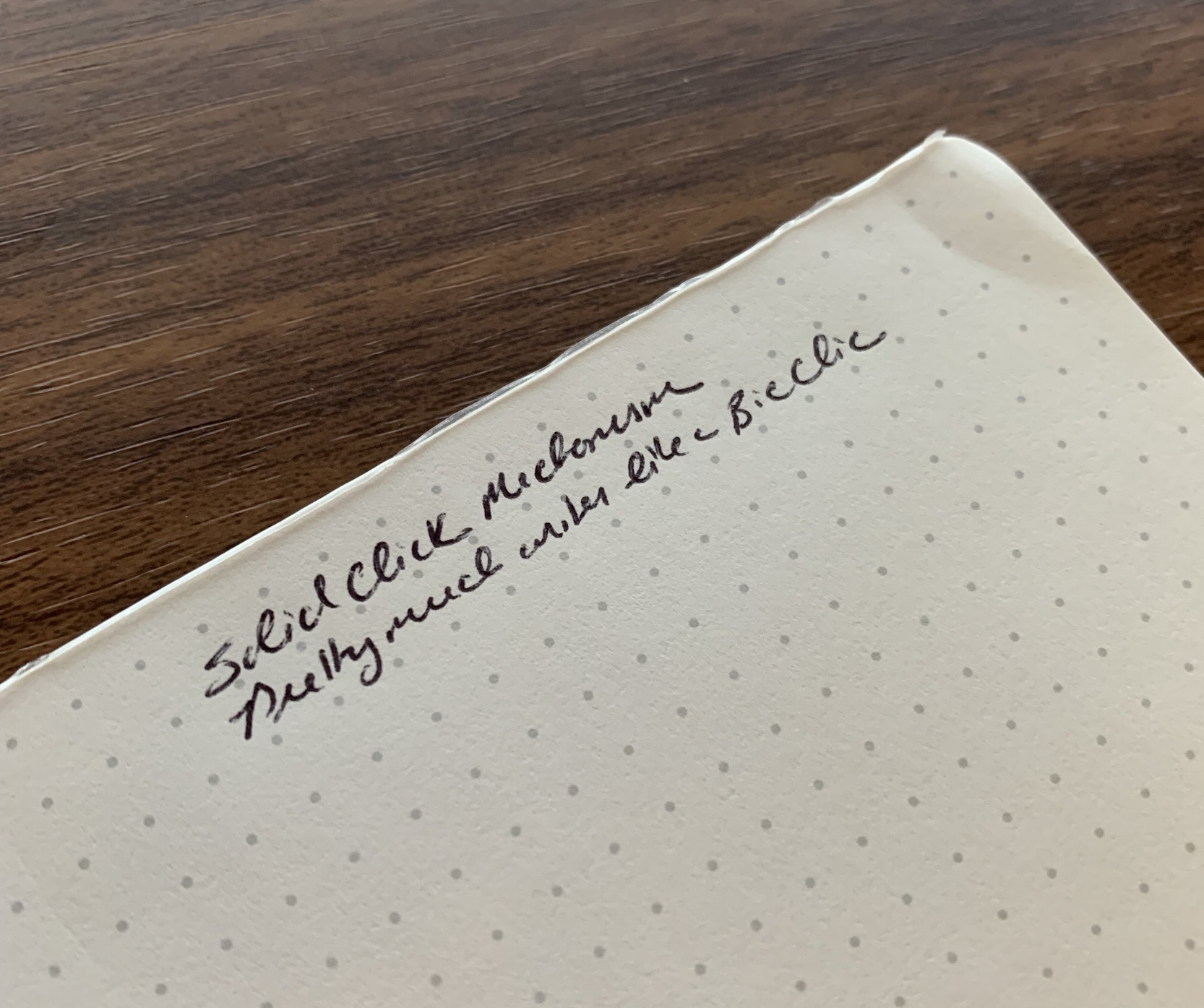 Kikkerland-Bic-Clic-Writing-Sample
