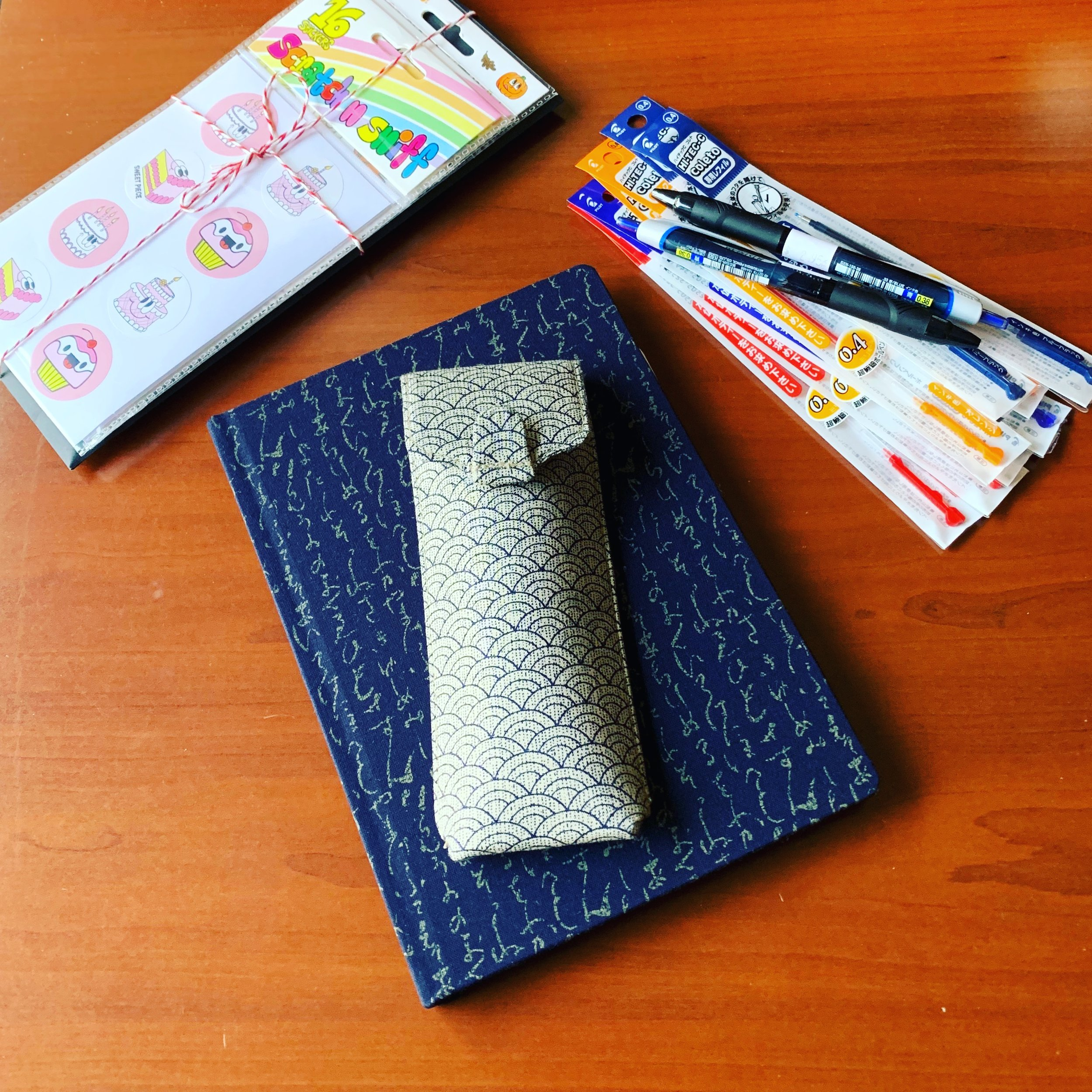 Atelier Musubi Pen Case and Notebook