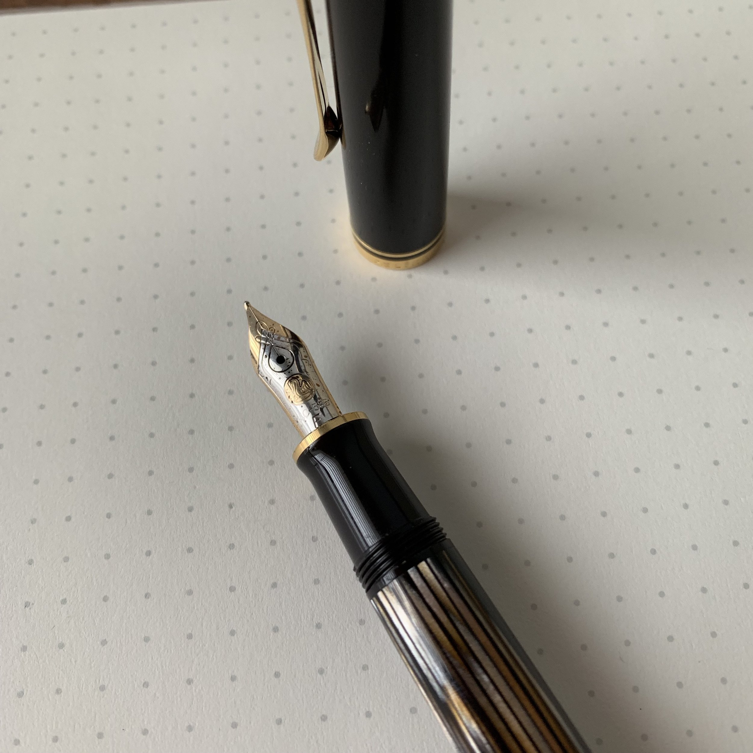 Pelikan nibs are among my favorite in terms of decorative scrollwork and brand logo.