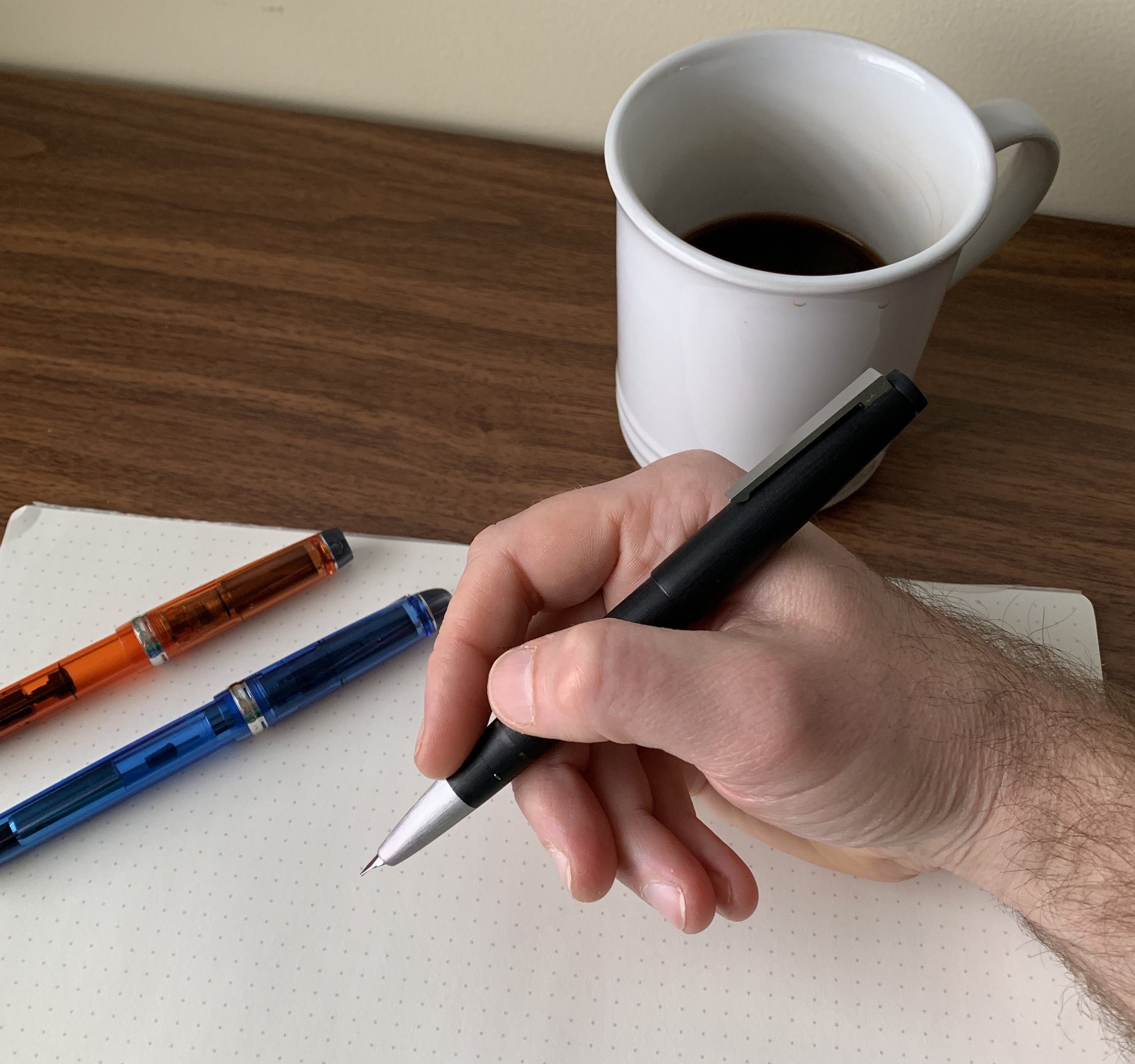Most people won't notice that the Lamy 2000 fountain pen isn't a ballpoint or a rollerball.