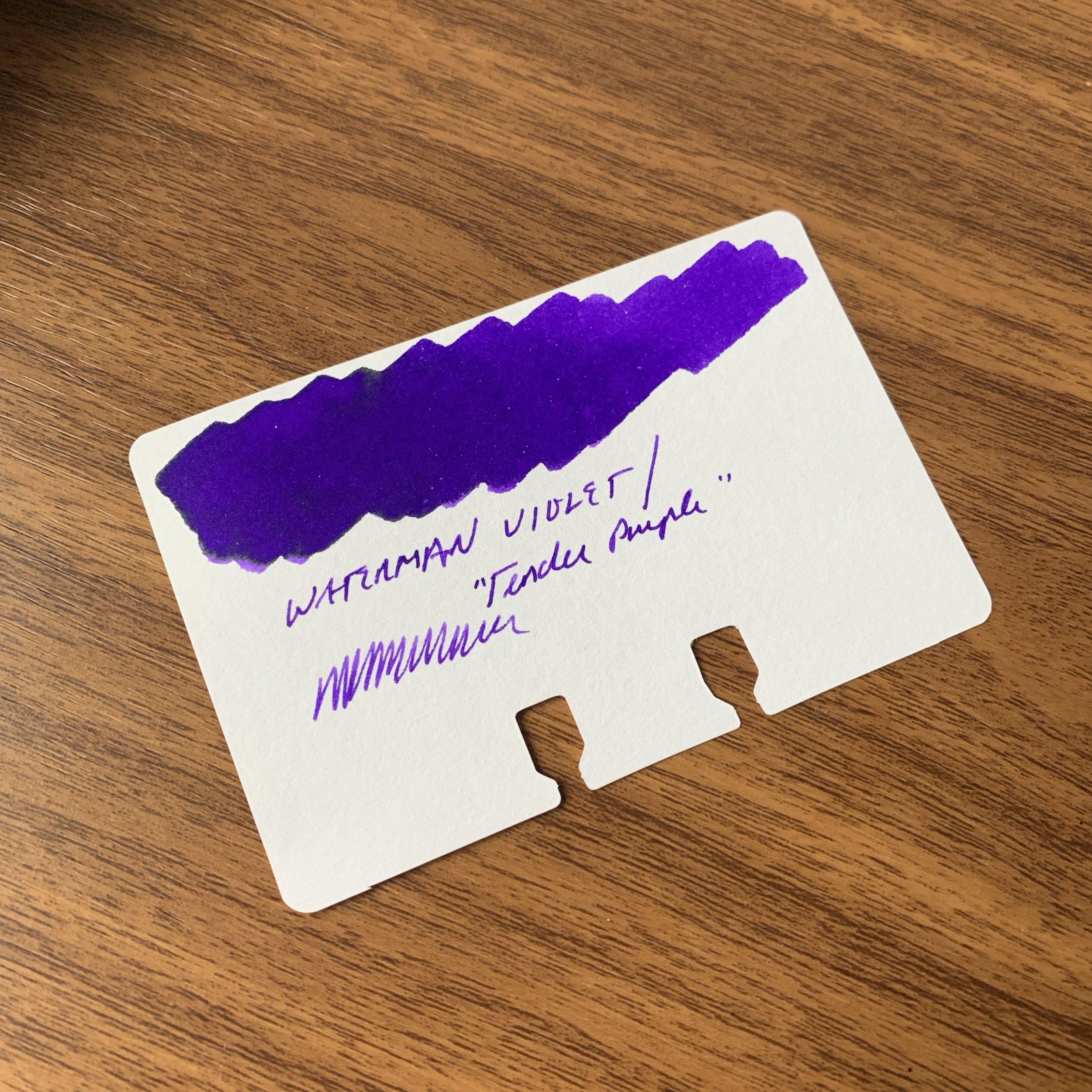 Waterman-Tender-Purple-Swatch