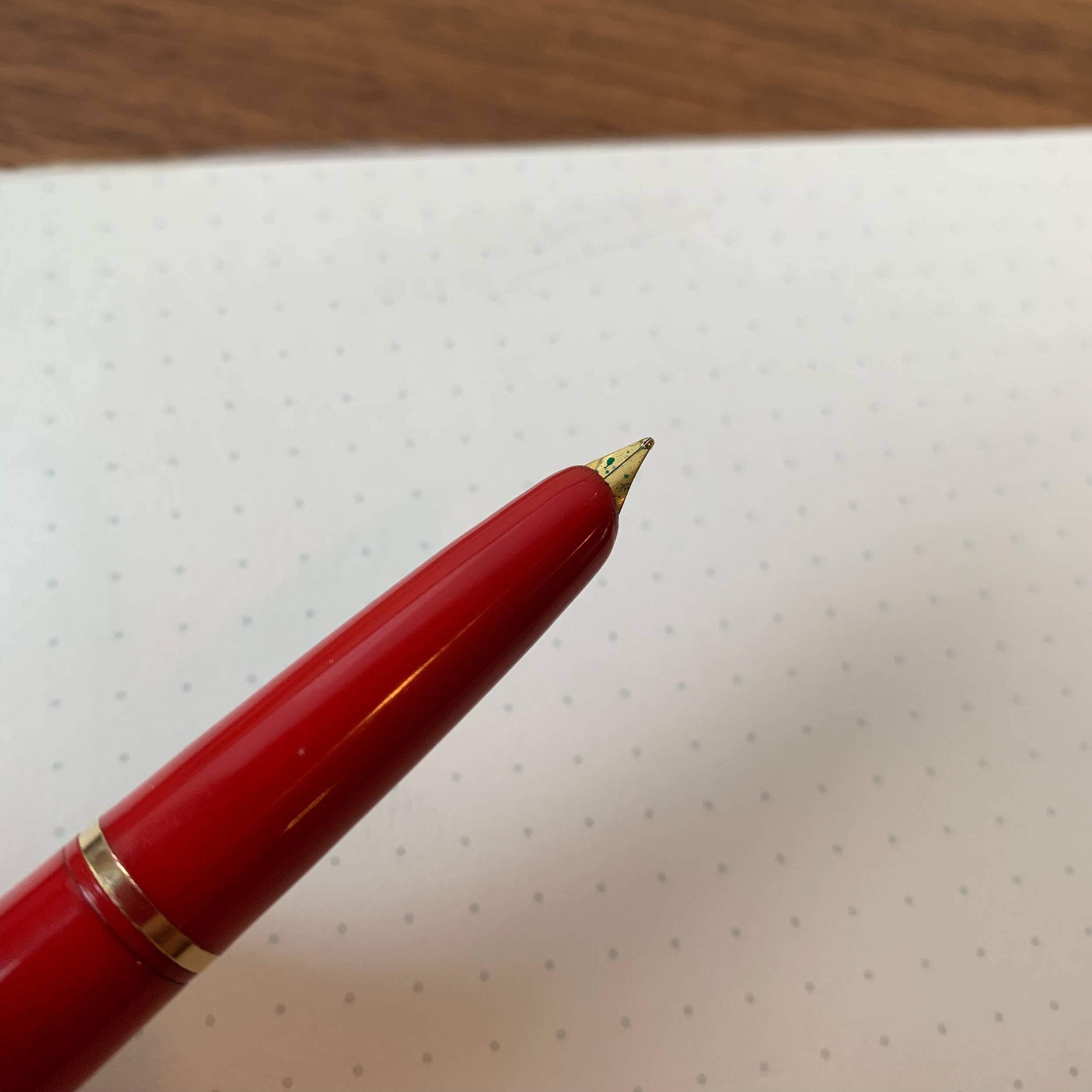 "I love hooded nibs! Even on relatively inexpensive pens, they seem to write well, and are very practical for those times when you'd prefer to use a pen that doesn't scream ""Fountain Pen!"", such as in a meeting."