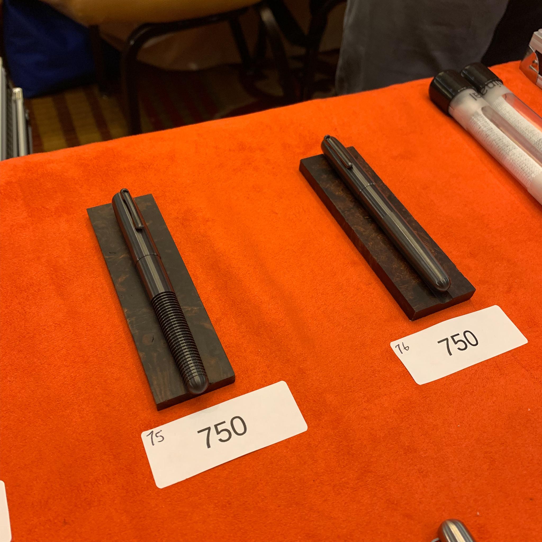 Zirconium pens from Matt Martin!