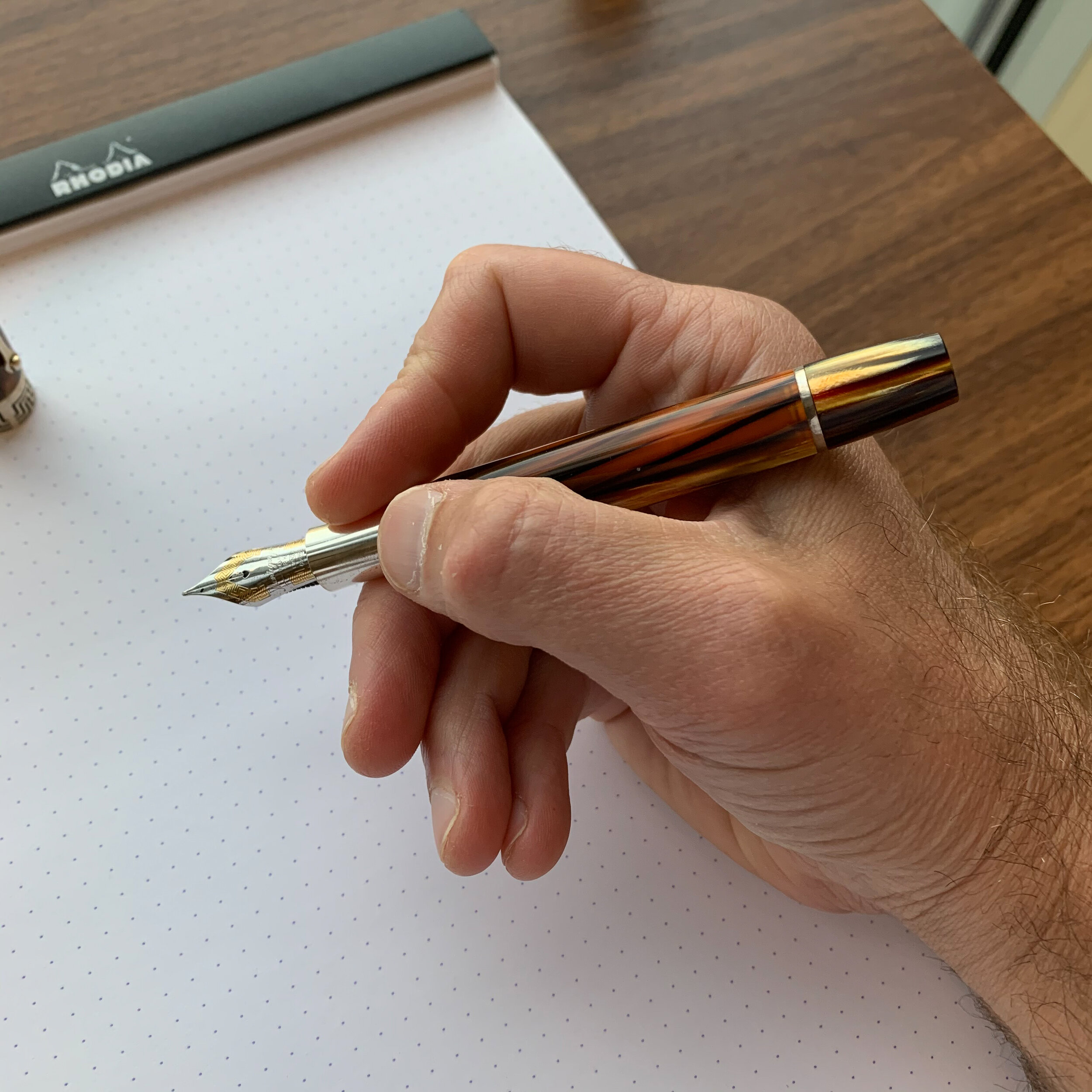 Montegrappa-Extra-1930-Unposted-In-Hand