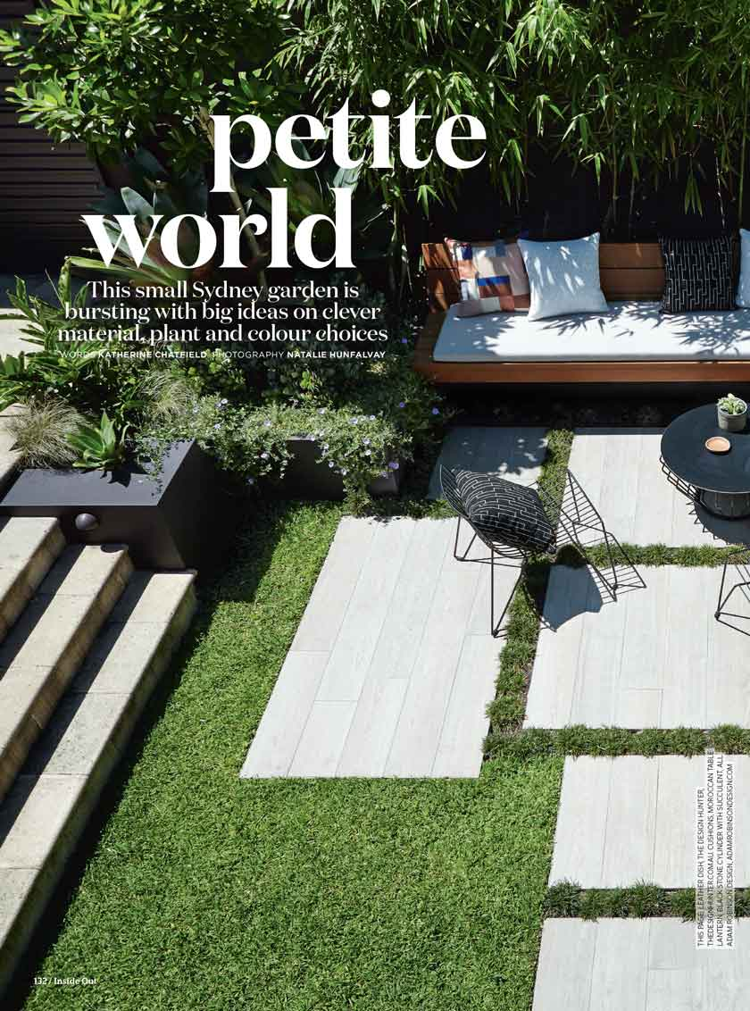 "INSIDE OUT MAGAZINE - ""Petite world""July, 2016"