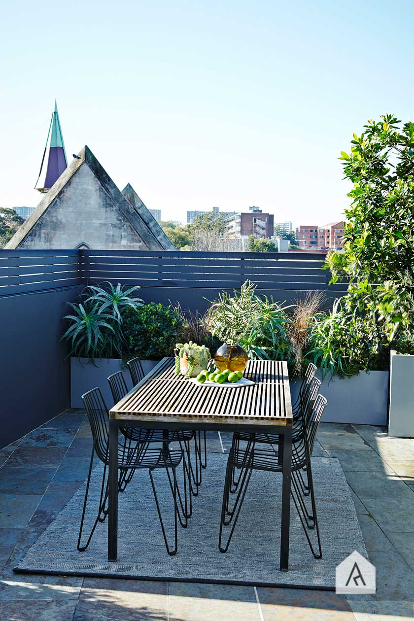 © Adam Robinson Design Sydney Outdoor & Landscape Designer Styling Gardens Outdoor Style 01 2016 AILDM National Industry Awards Balcony Rooftop Garden Category 03 Redfern rooftop project 02.jpg
