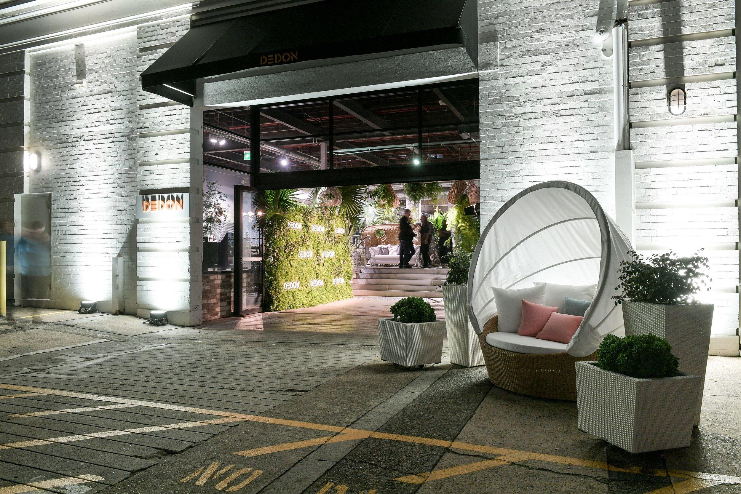The new Dedon showroom Morley Ave, Rosebery.