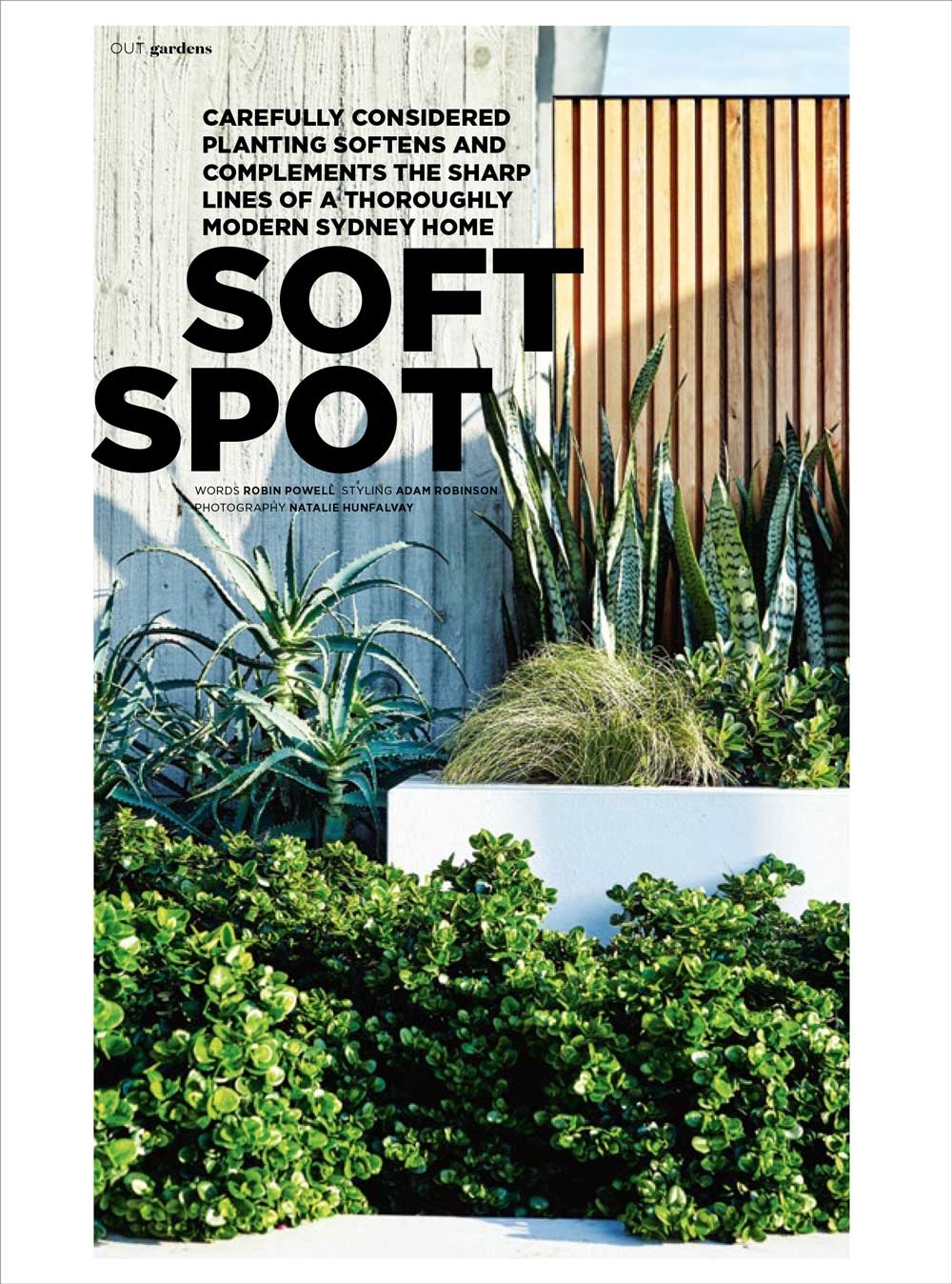 "INSIDE OUT MAGAZINE - ""Soft spot""Jul, 2017"