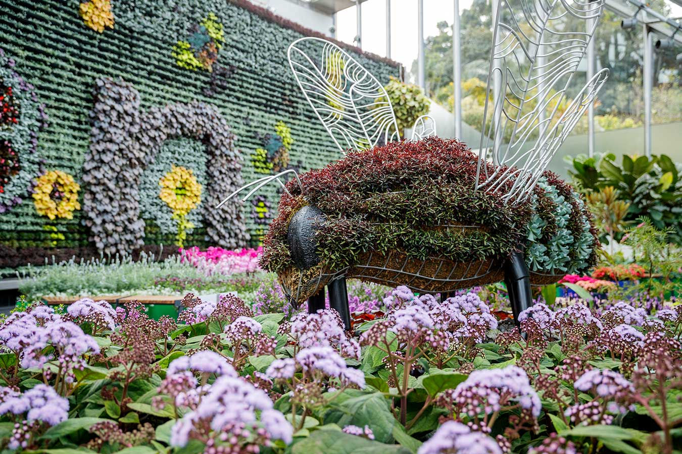Image: courtesy of Pollination at The Calyx at The Royal Botanic Gardens Sydney