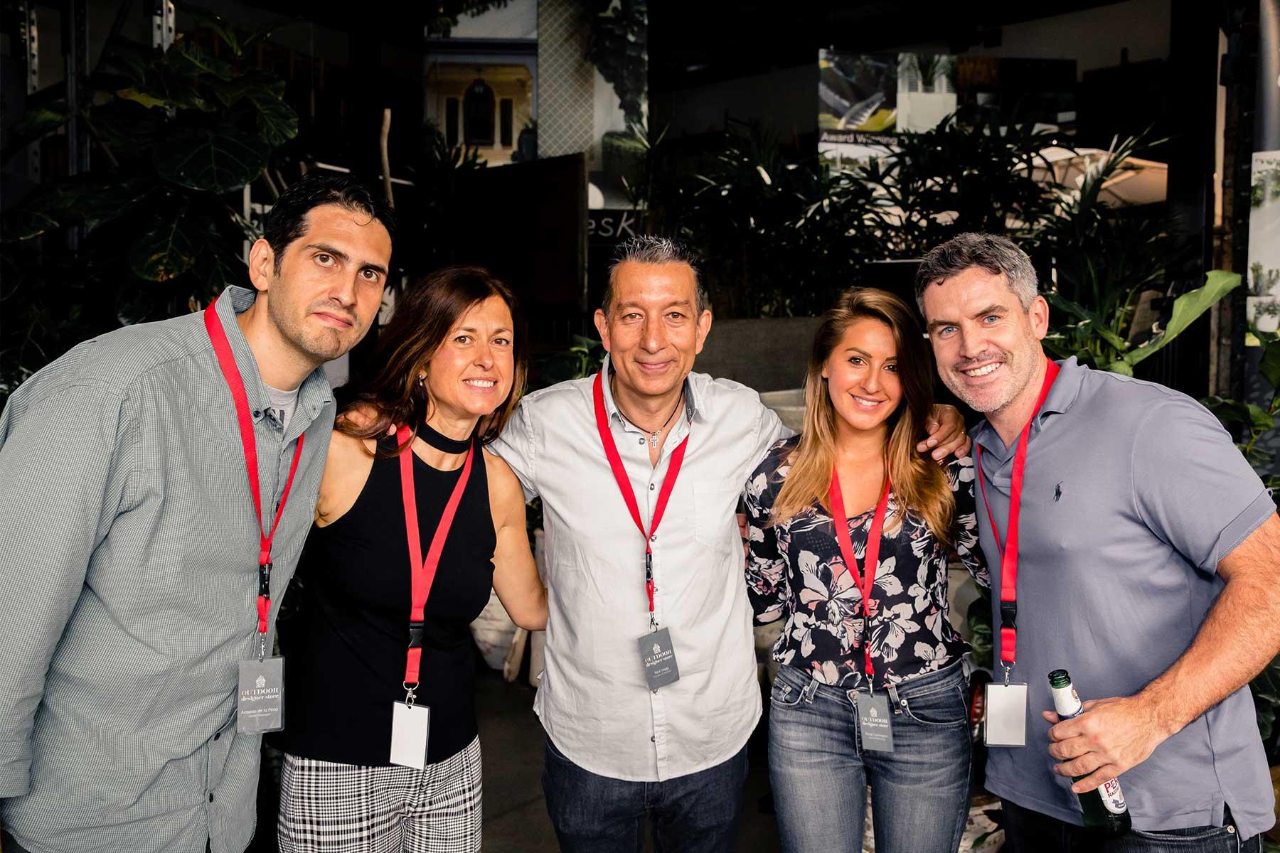 Antonio de la Peña , Alexandra Hadji, Nick Hadji, Anna Turkington, and Richard Bailey from ODS