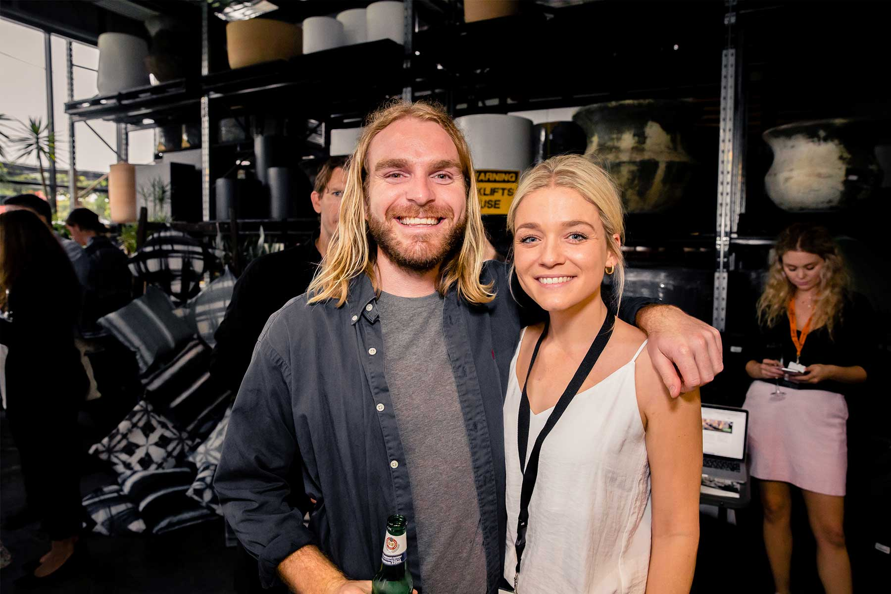 Hamish Chapman from ARD and Lilli Watkins from Houzz