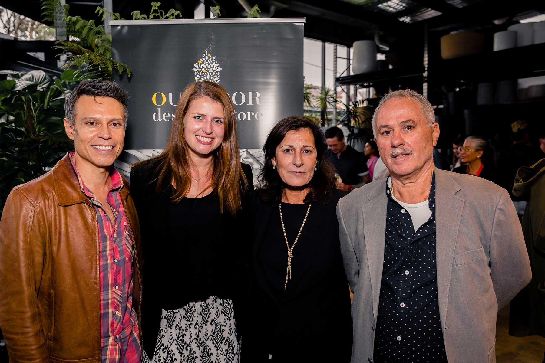 Patryc Lampasi, Alana Sudale, Harriet Condos and Jim Condos from Harbour Outdoor