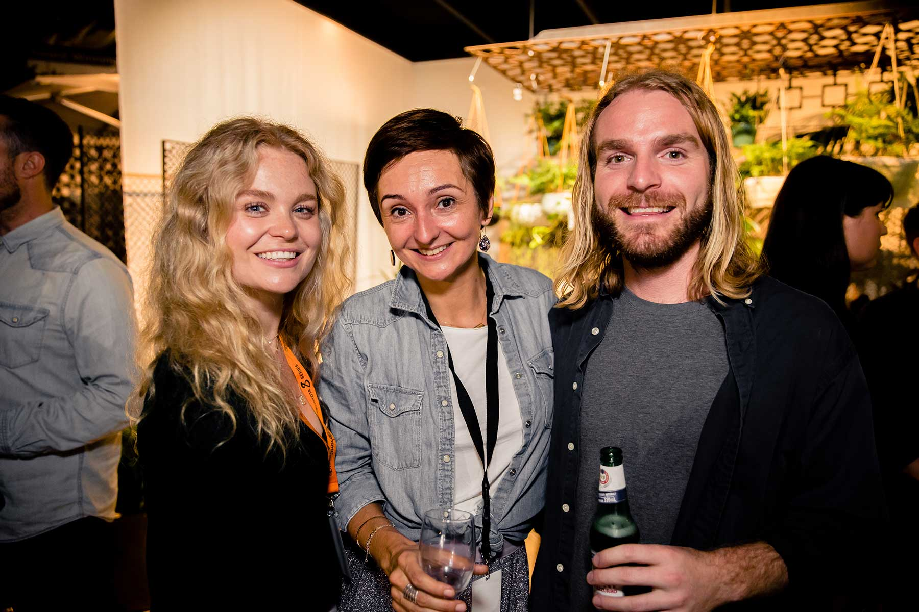 Olivia Tuivaga from Houzz, Caroline Edwards from Armadillo and Hamish Chapman from ARD