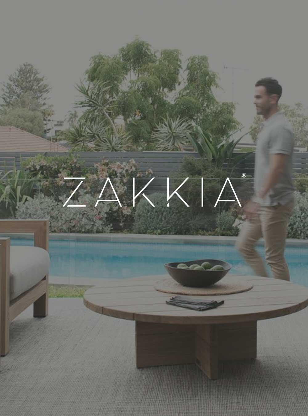 ZAKKIA - 'Adam Robinson Design'Sept, 2019