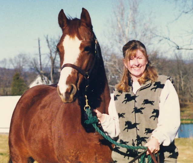 My Quarter horse mare Copper