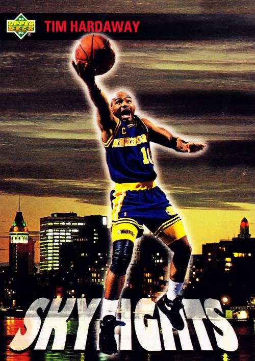 "Tim Hardaway ""Skylights"" Poster"