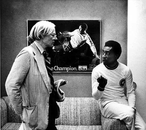 Andy Warhol & Pele