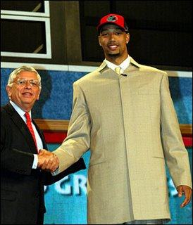 NBA Draft Suit with David Stern
