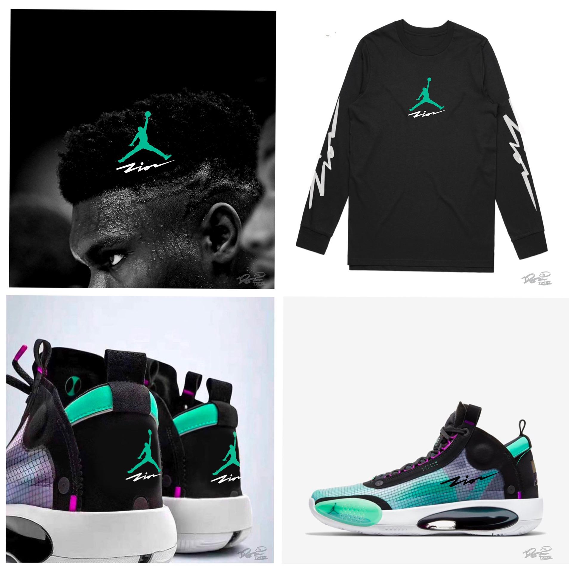 Zion Williamson Jordan Brand Shoe