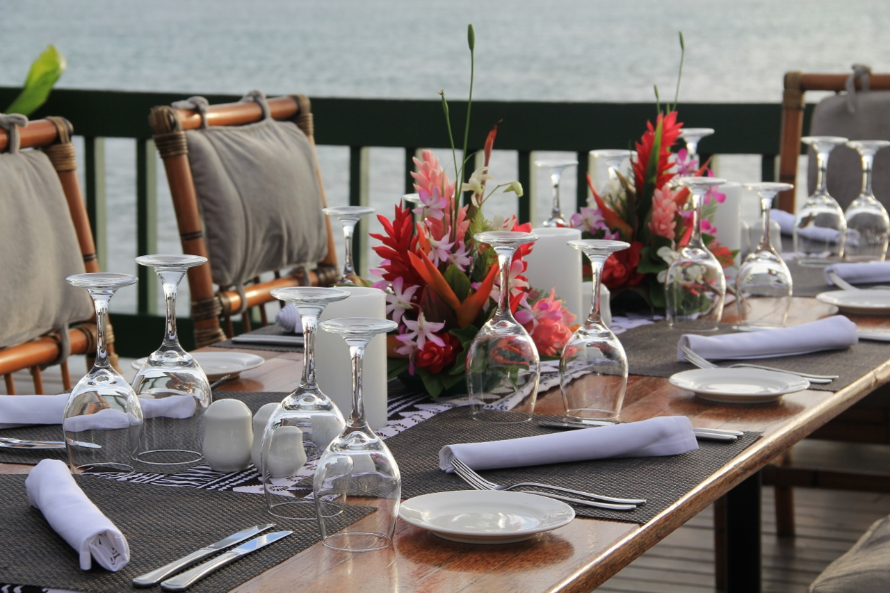 Table set beautifully