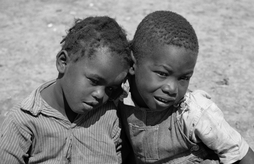 Photo Credit: Sharecropper boys in 1936 (Carly Mydans/Library of Congress)