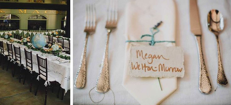 All of the details made this wedding so special!