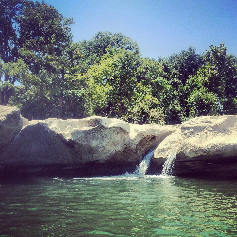 swimming hole texas travel mckinney falls state park