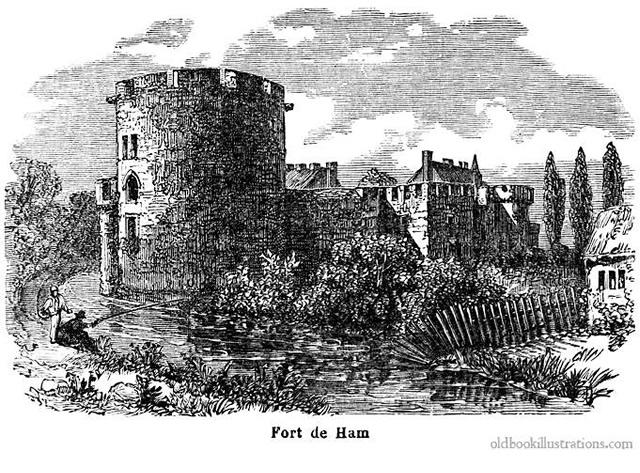Fort de Ham  / Photo credit: Dictionnaire encyclopédique Trousset (1886)