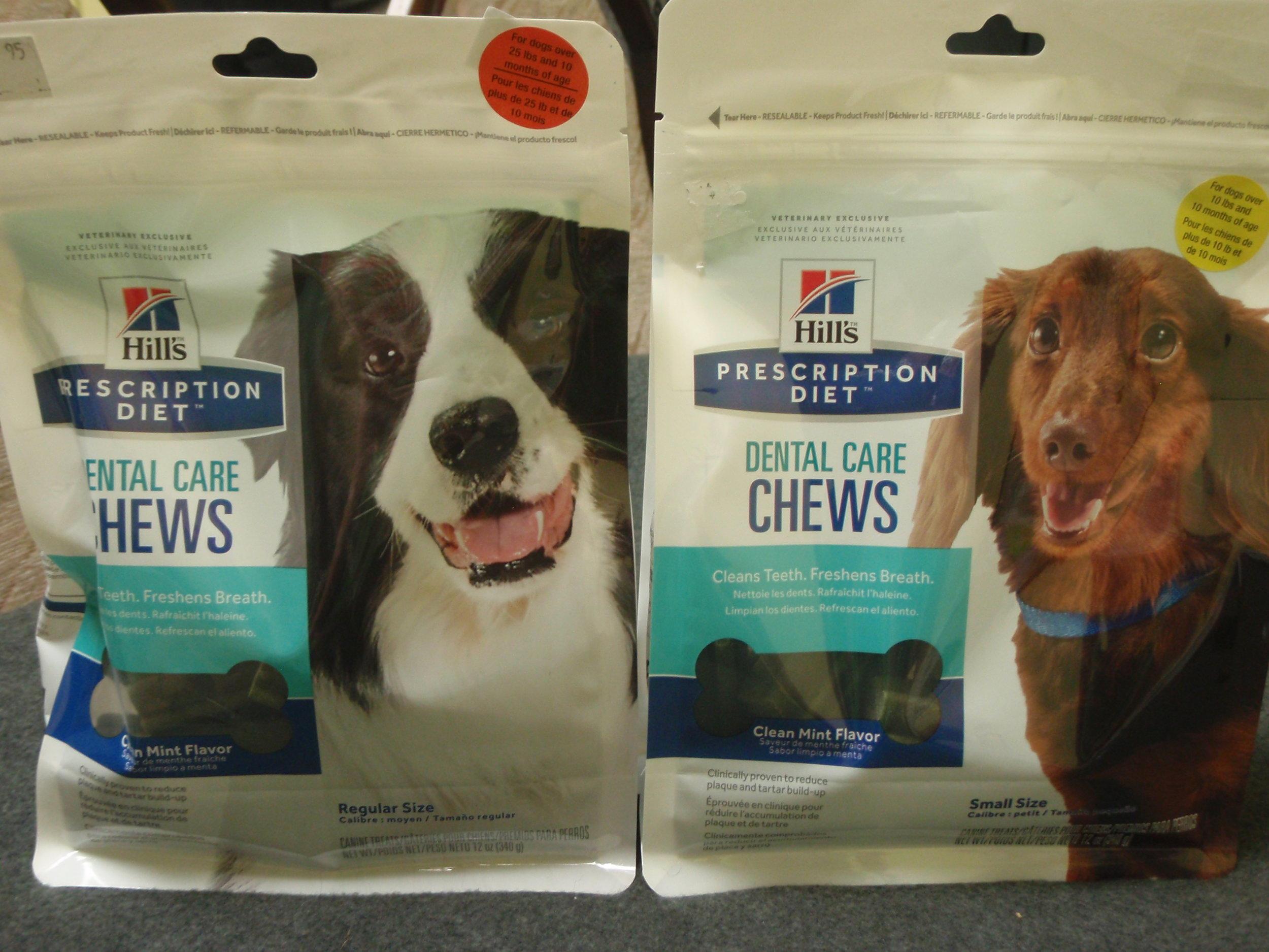 T/D dental chews