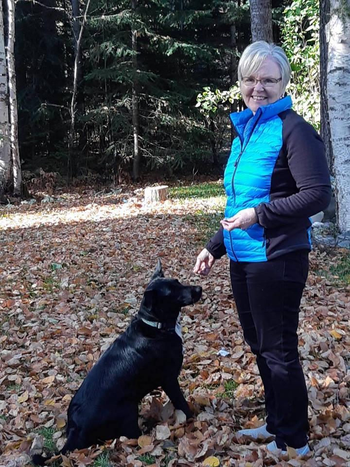 Arlene & her dog Tasha