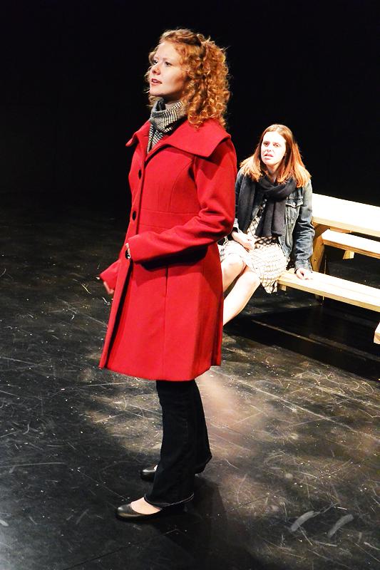 Playgrounds  by Sarah Sanders  World Premiere at Glicker-Milstein Theatre Barnard College October 2013