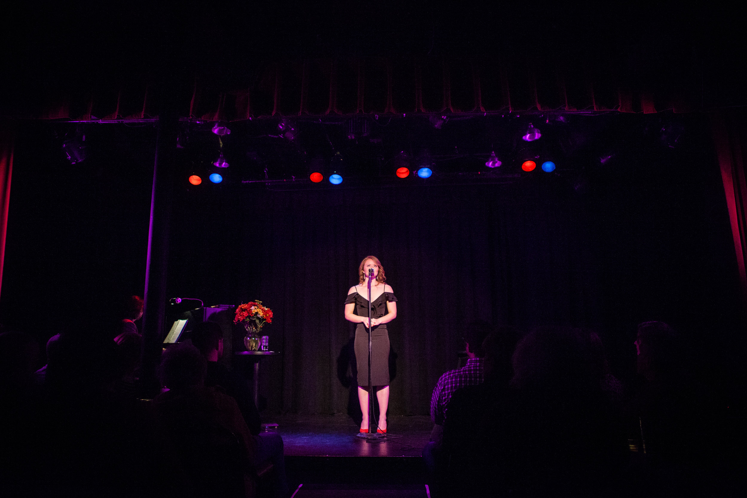 What Would Judy Do?  Solo cabaret at Bryant-Lake Bowl & Theatre Minneapolis, MN October 2, 2018  Photography by Gabe Stejskal
