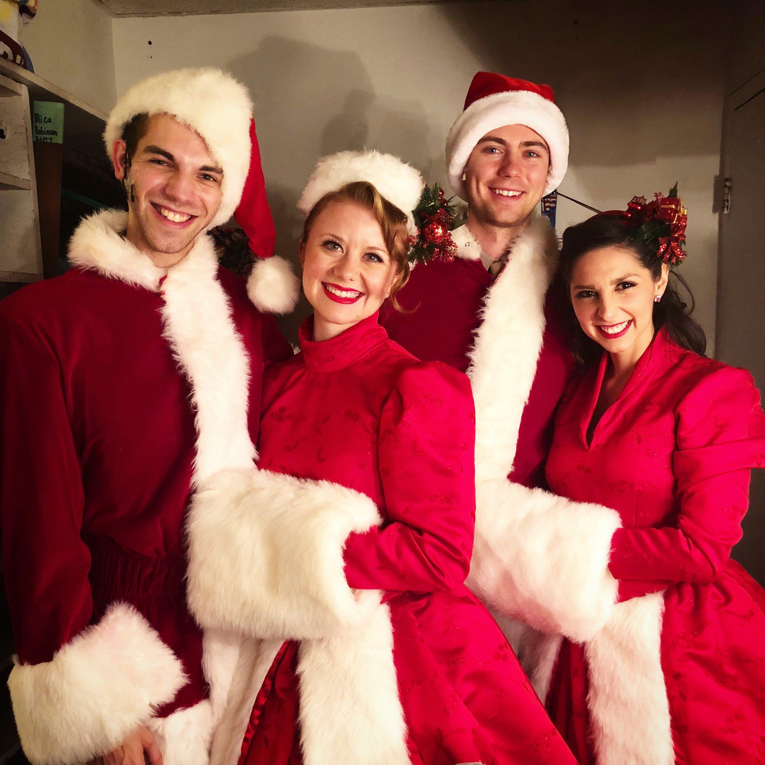 Judy Haynes in    White Christmas        La Comedia Dinner Theatre Springboro, OH November 1 - December 31, 2018