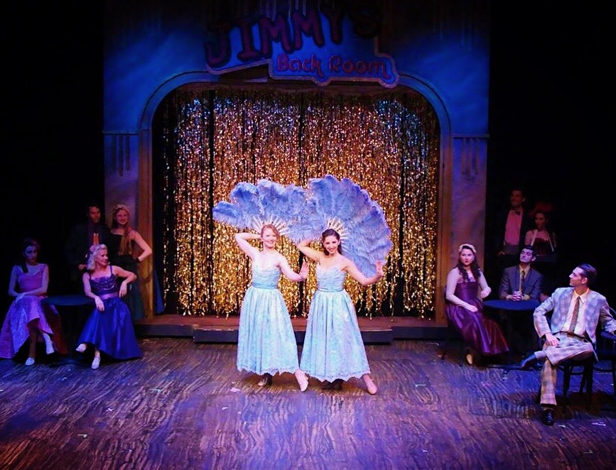 """Sisters"" in  White Christmas    La Comedia Dinner Theatre Springboro, OH November 1 - December 31, 2018"