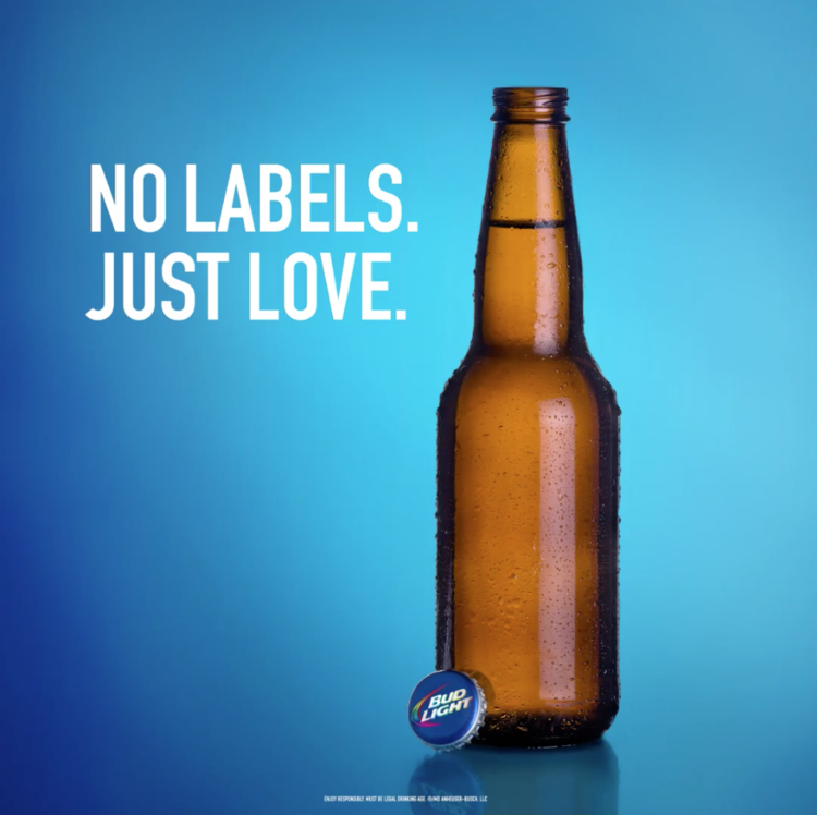 Toronto Pride Parade x Bud Light   Today isn't about labels. It's about love. #YouCanSitWithUs #PrideMonth #BudLightLiving